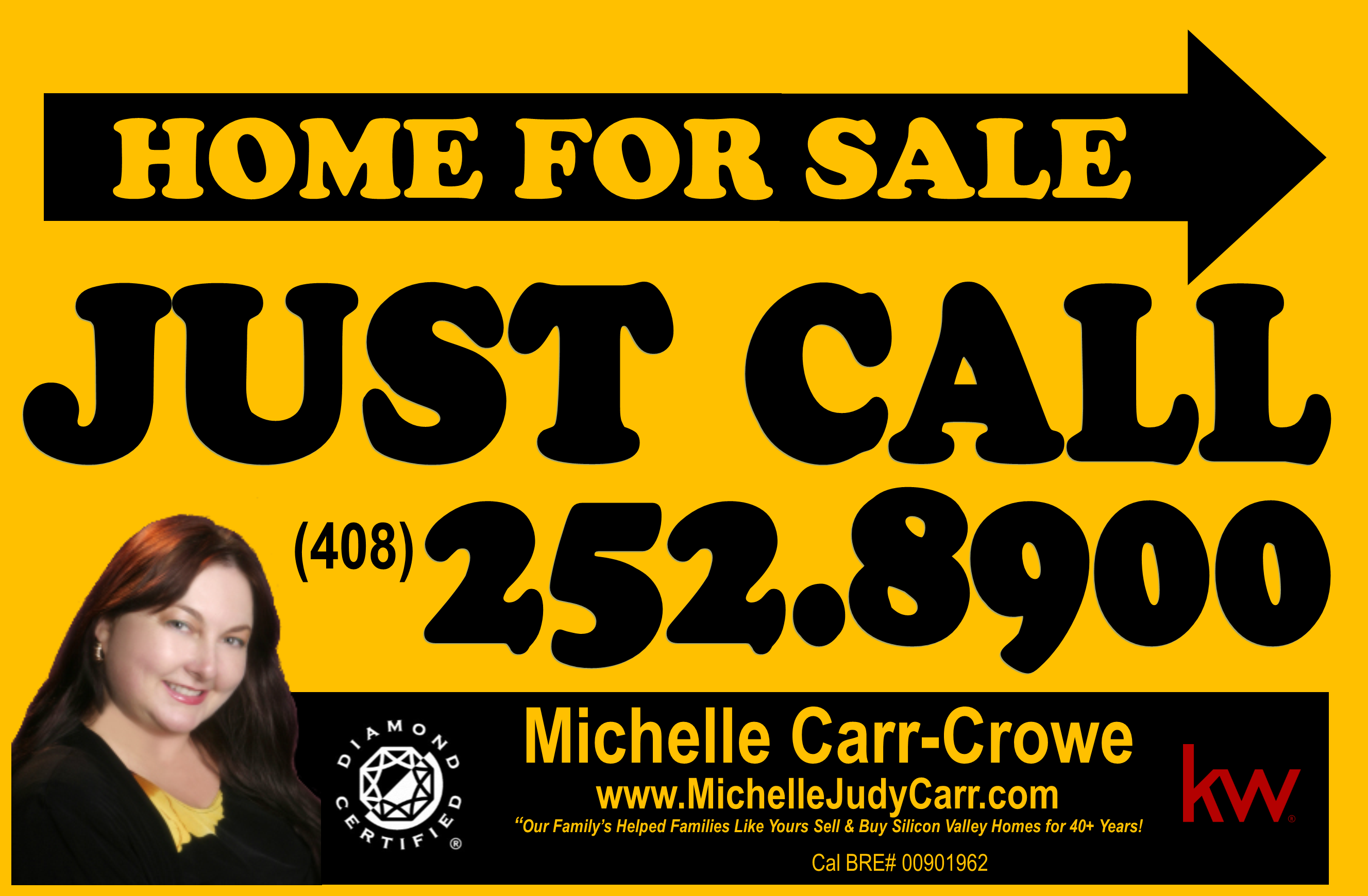 Michelle Carr Crowe real estate sign image