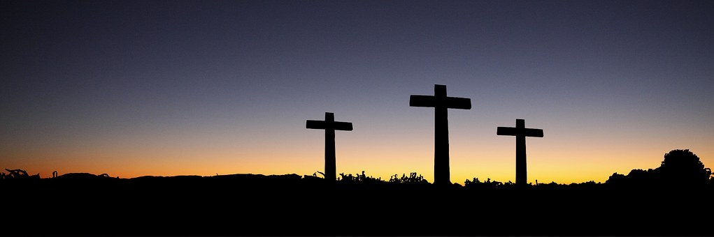 Easter crosses image