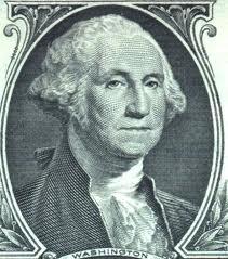 George Washington dollar bill Michelle Carr Crowe blog image