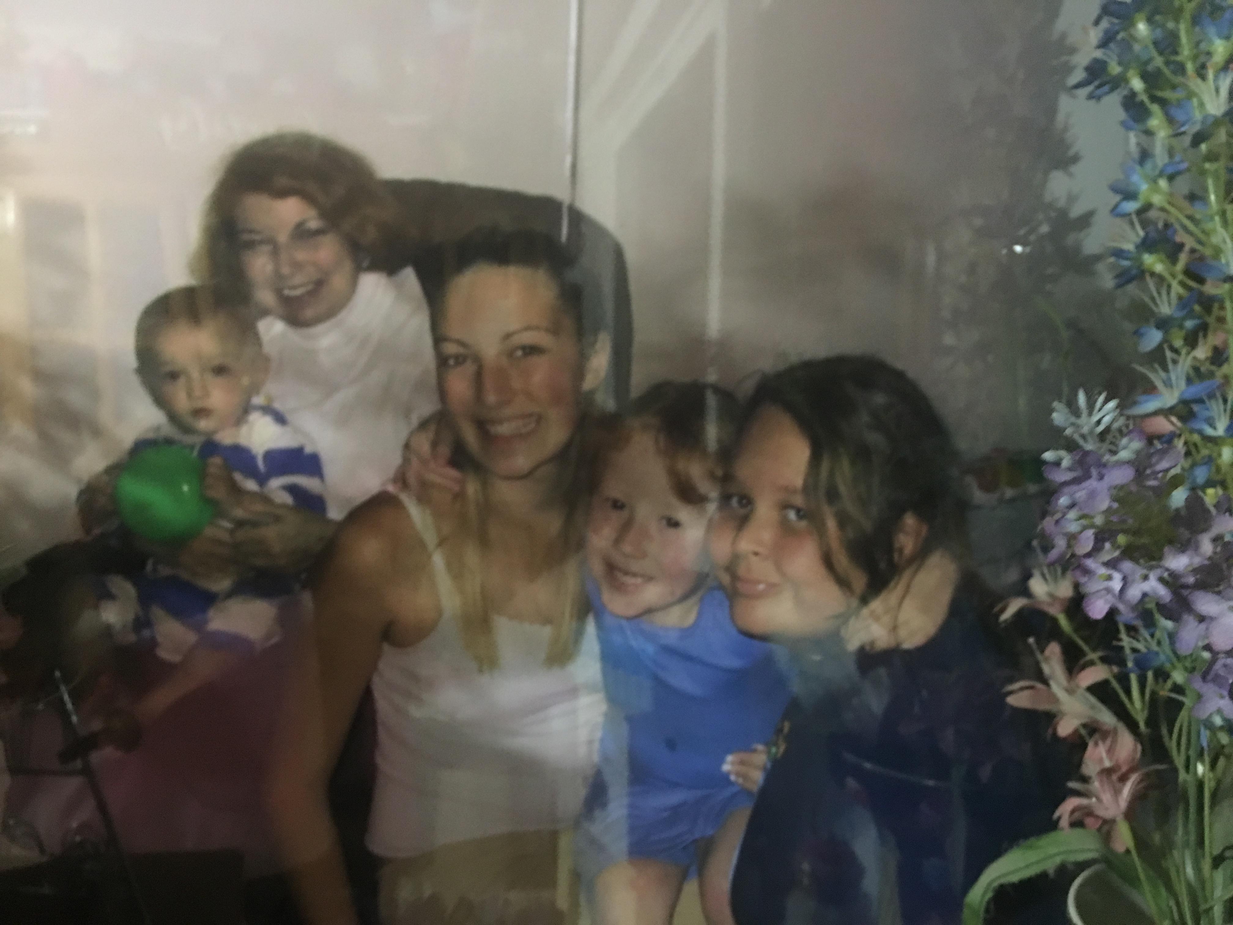 Mom Judy Carr Shane Marlene Meghan Mo