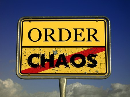 chaos order sign image