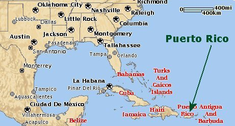 United States Map With Puerto Rico.Want To Help The Us Territory Puerto Rico Here Is How