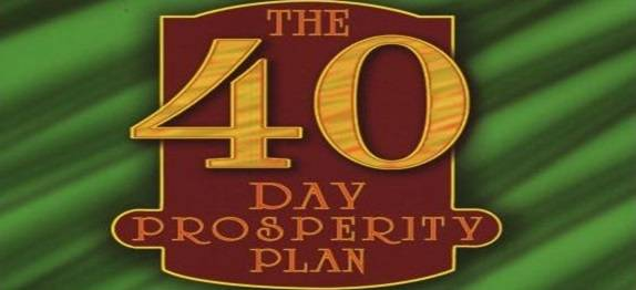40 Day Prosperity Plan (day 24 of 40)