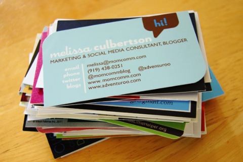Business cards are a waste of money colourmoves