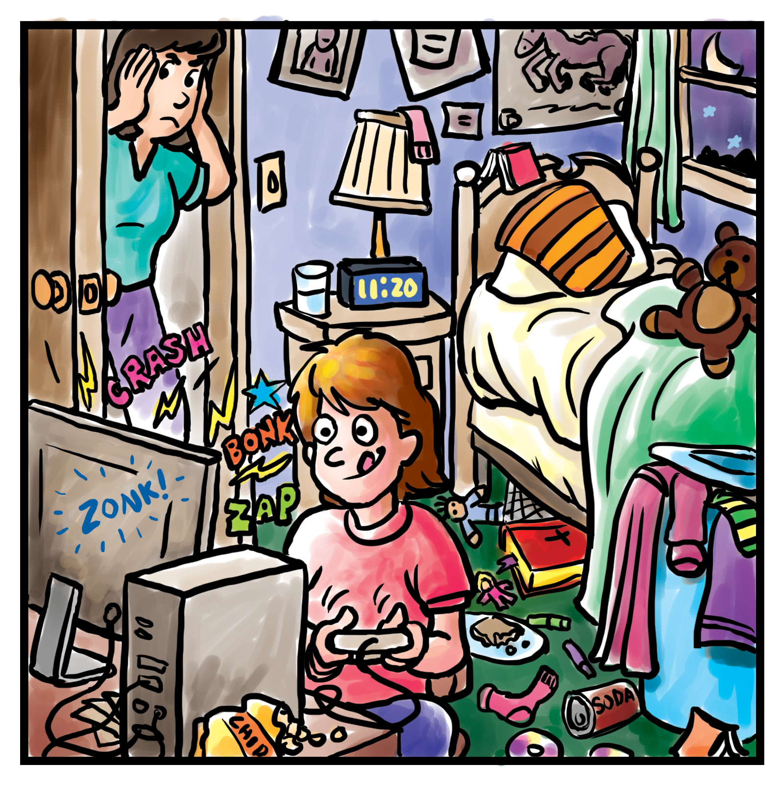 Messy Room: A Contract For The Kids