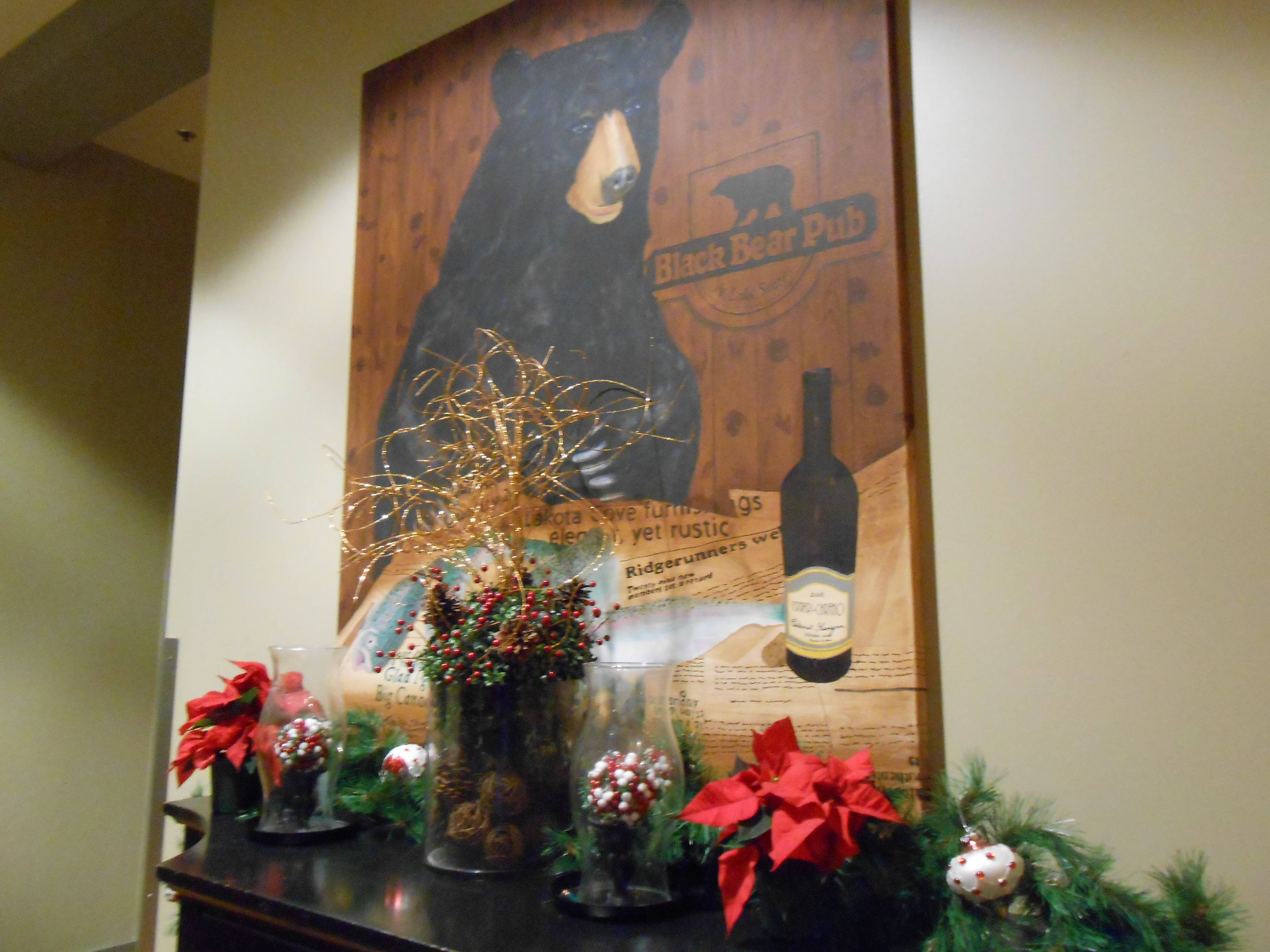 Clubhouse at Big Canoe at Christmas