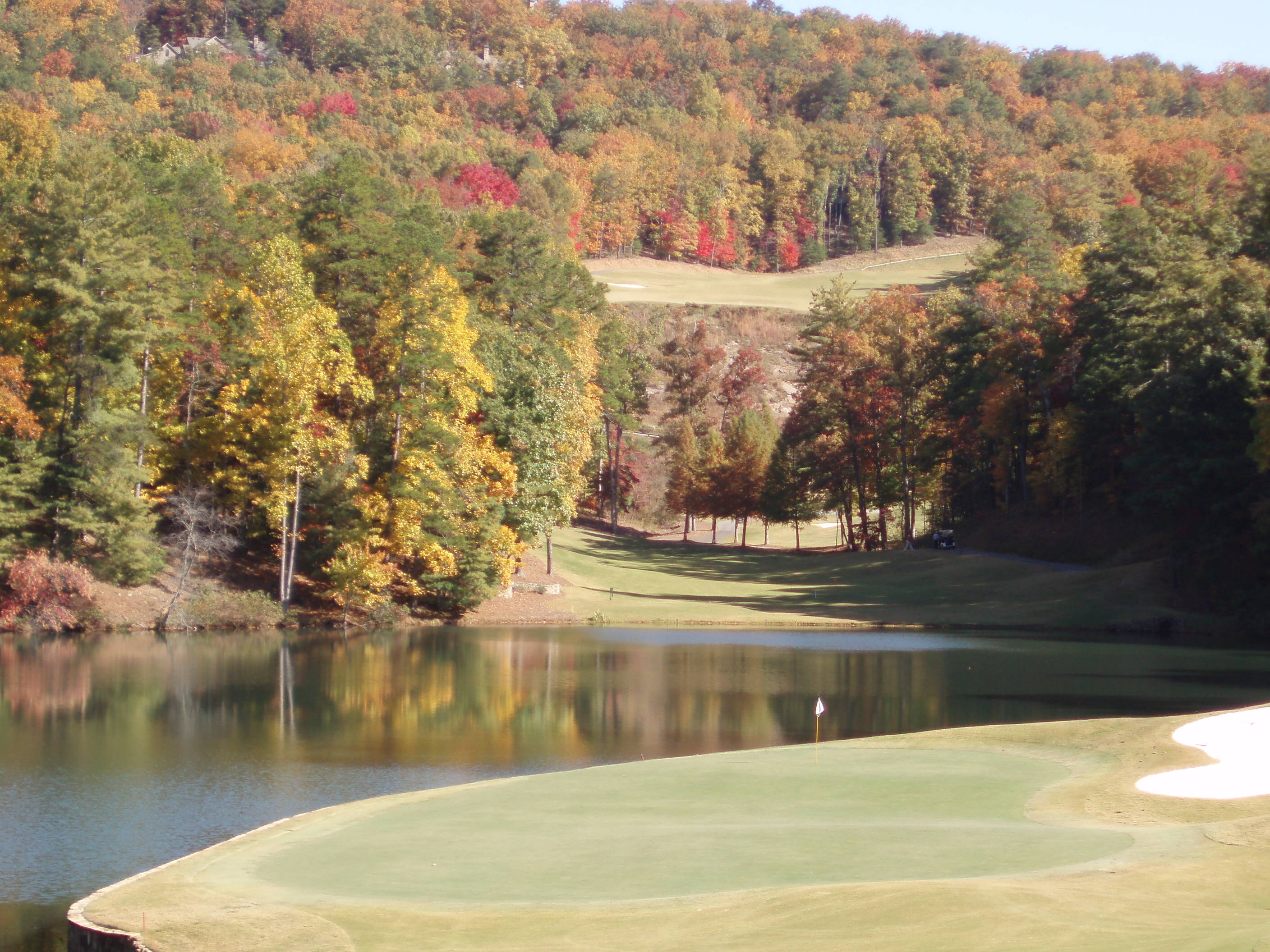 Big canoe may be the golf community for you for The big canoe