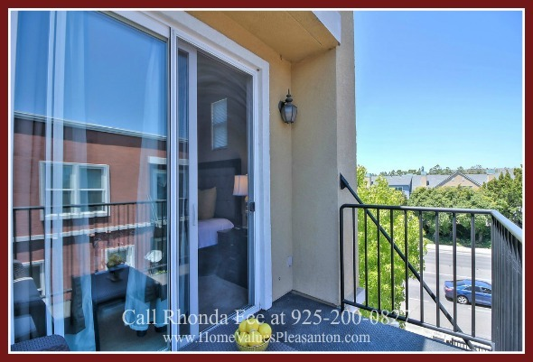 Hayward CA Homes  - Want some quiet moments? Step into the private balcony of the master bedroom of this home for sale in Hayward CA.