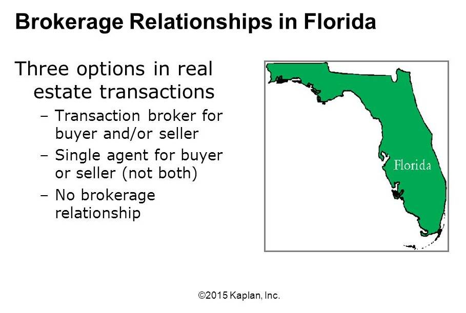 What Is A Transaction Broker In Florida
