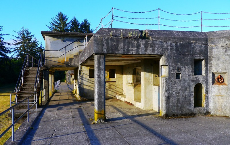Battery Russell in Fort Stevens State Park