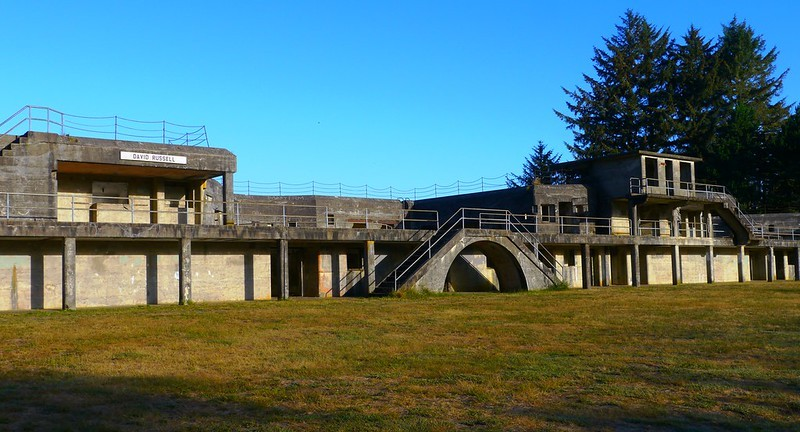 Battery Russell at Fort Stevens