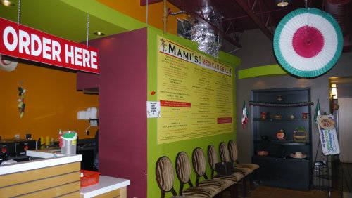 Mami's Mexican Grill Interior