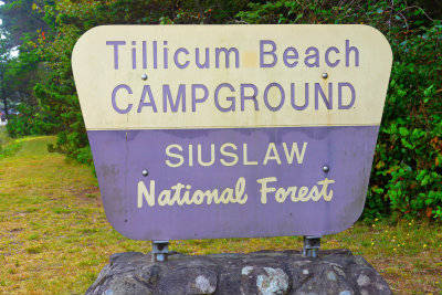 Siuslaw National Forest Campground