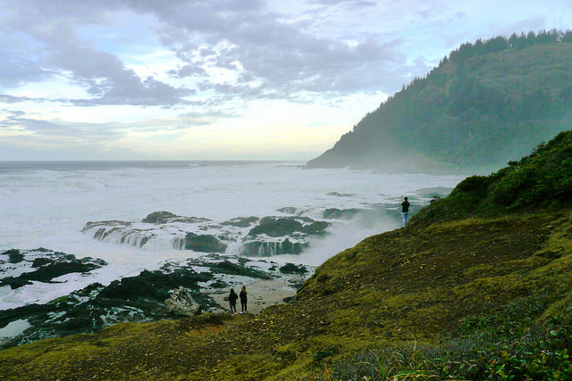 Cape Perpetua and the central Oregon Coasttr