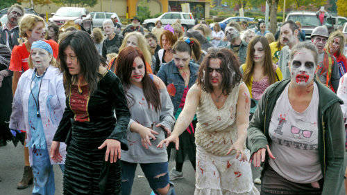 Eugene Oregon Zombies