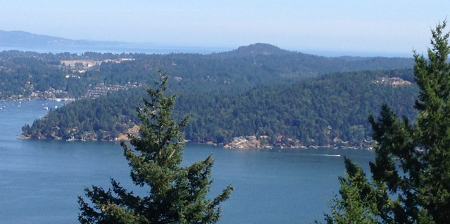Willis Point from Malahat Drive