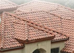 4 common roofing choices for your home for Barrel tile roof colors