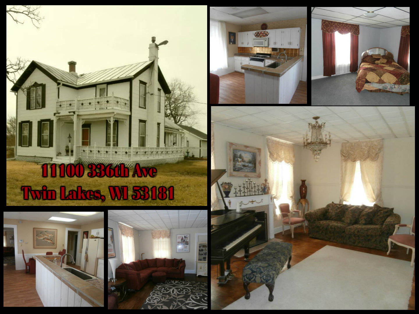 11100 336th Ave, Twin Lakes, WI 53181