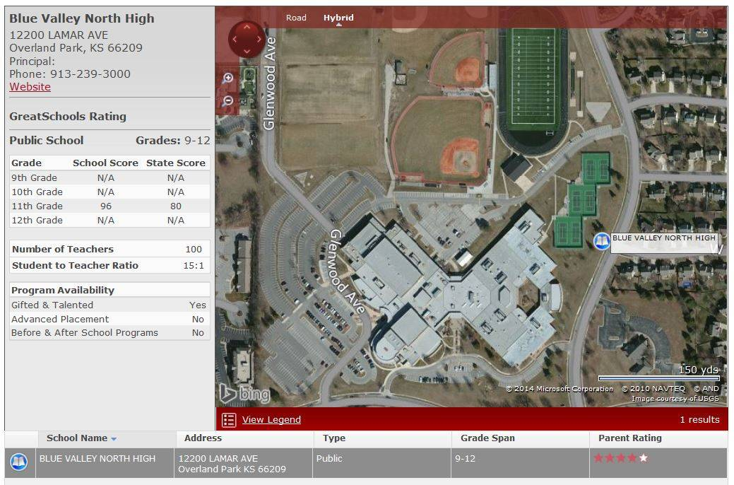 Homes For Sale Near Blue Valley North High School