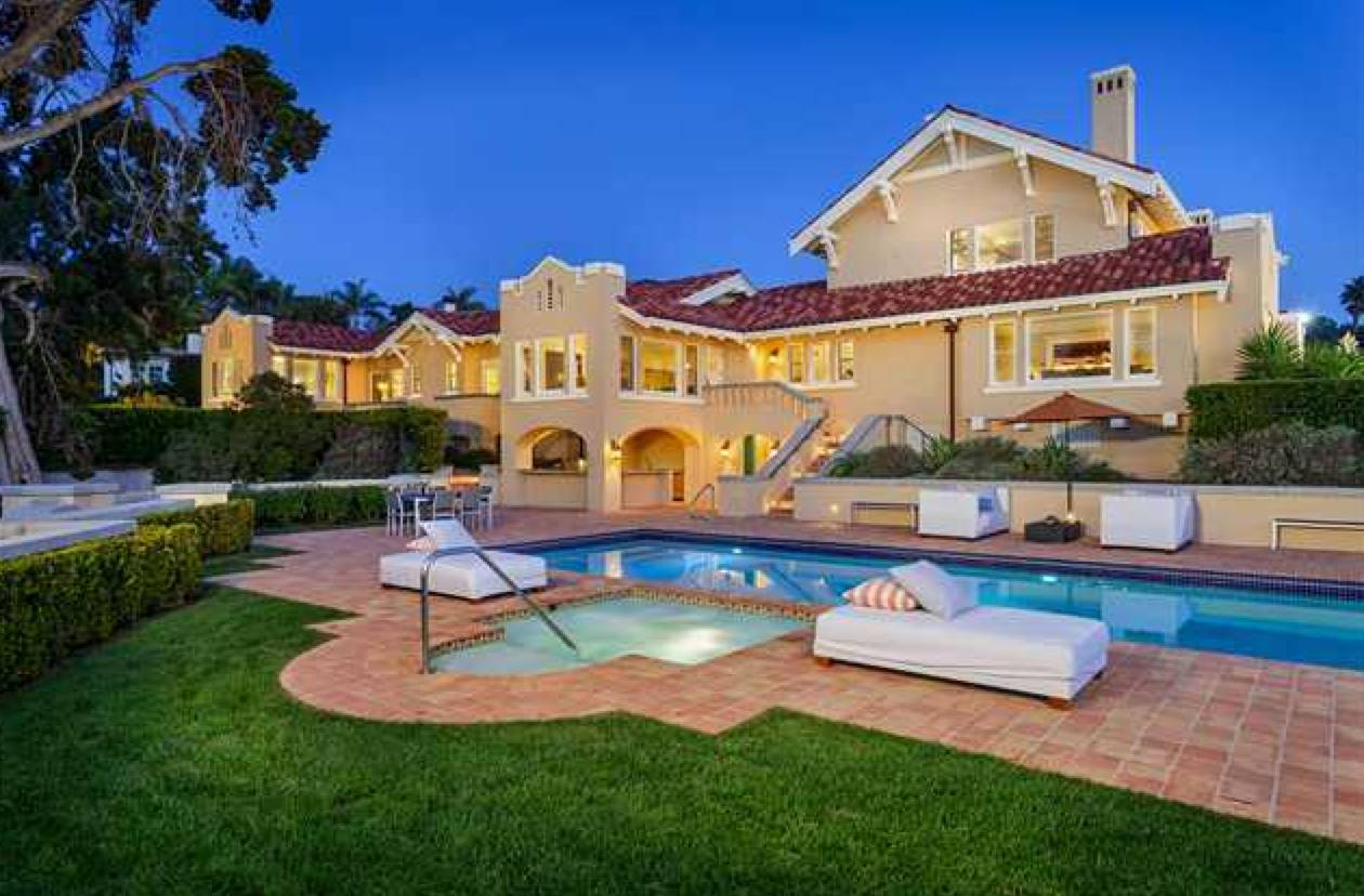 Most expensive coastal homes sold in north san diego for Most expensive houses in california