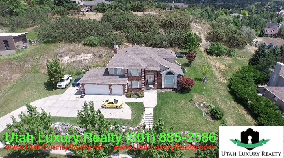 Alpine Utah Real Estate Aerial Video