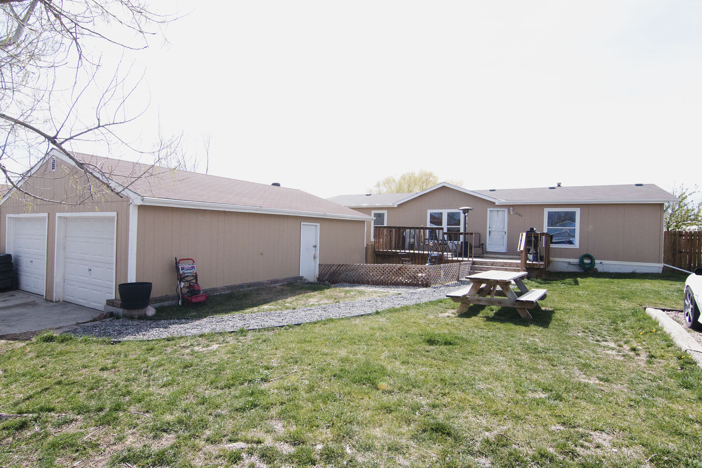 garage in place with this cozy space gillette wy real estate