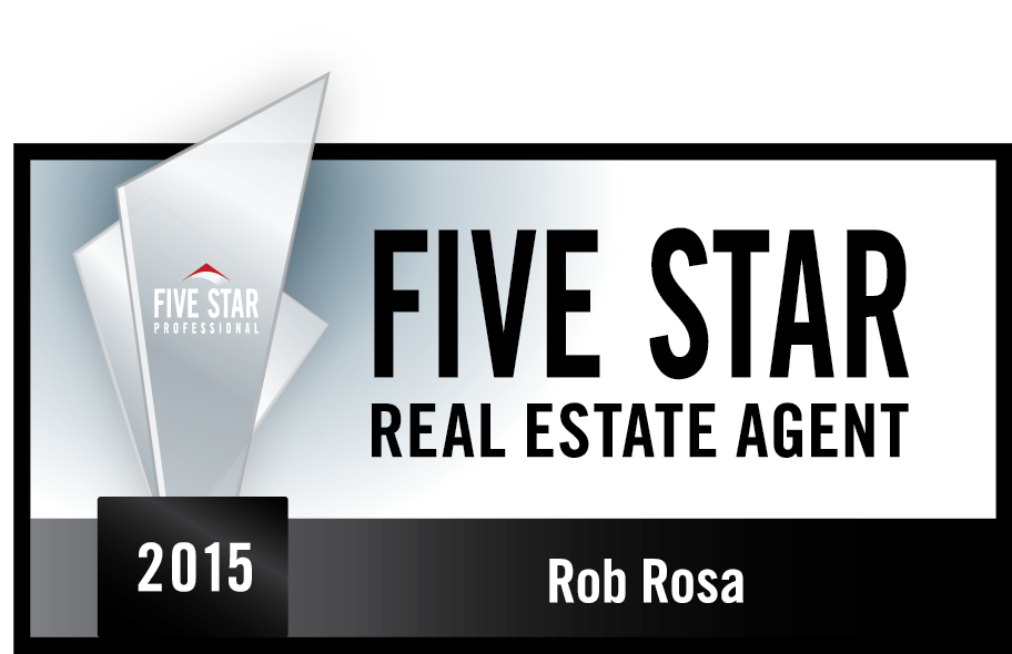 Rob Rosa is a Five Star Professional