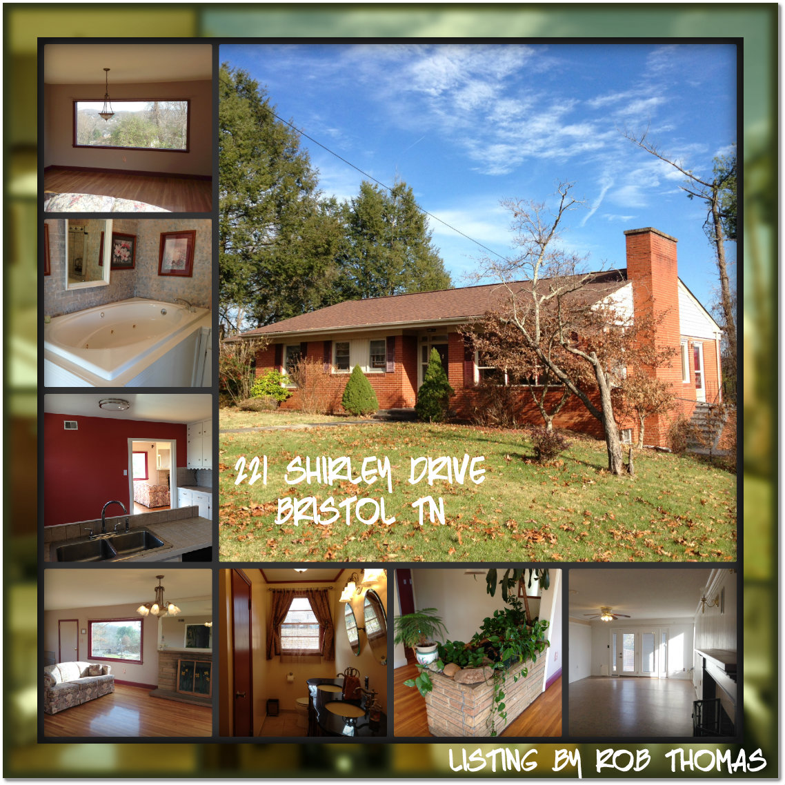 Just Listed In Bristol Tn 221 Shirley Drive In Haynesfield Area