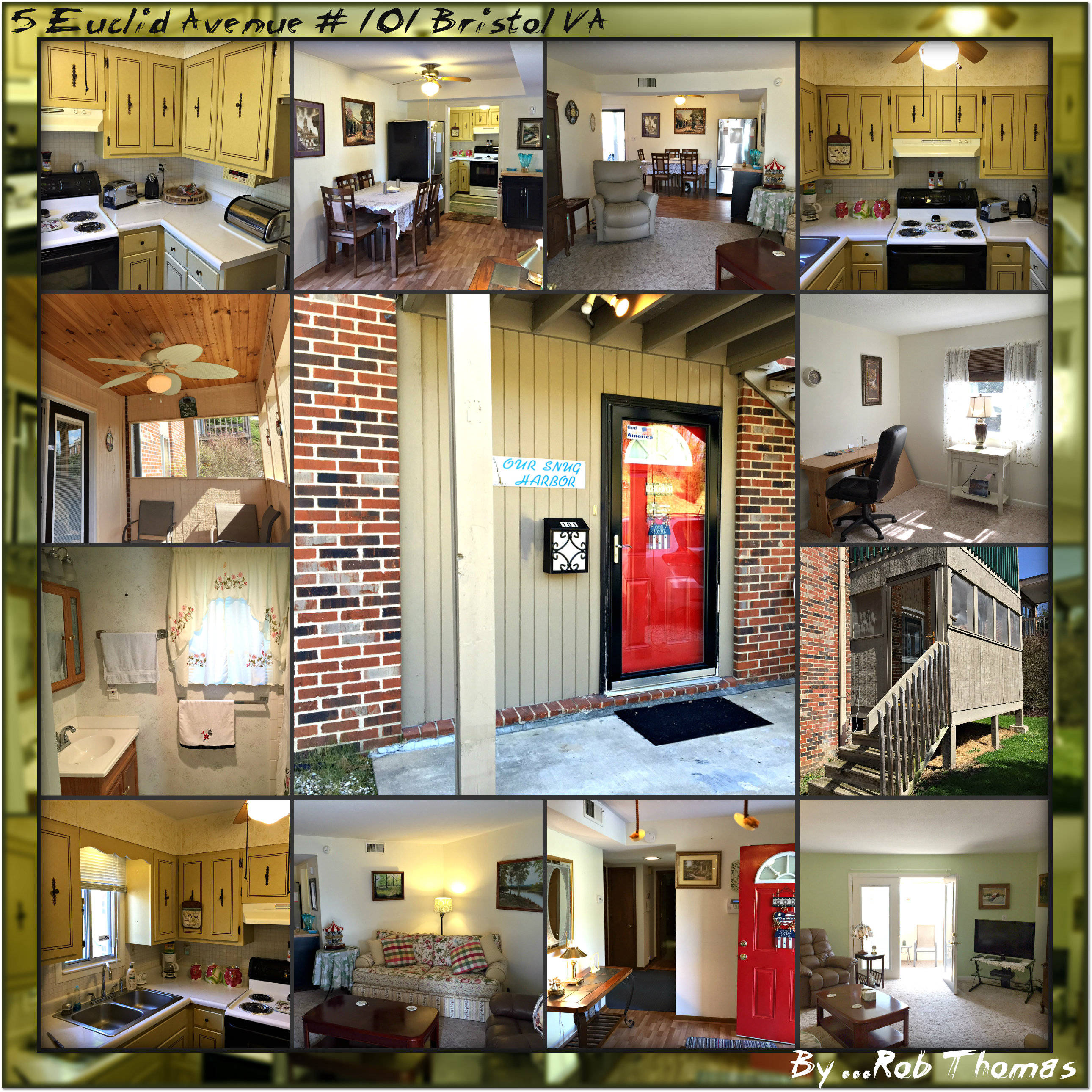 3 Bedroom~2Bath Condo For Sale In Bristol VA Just Reduc