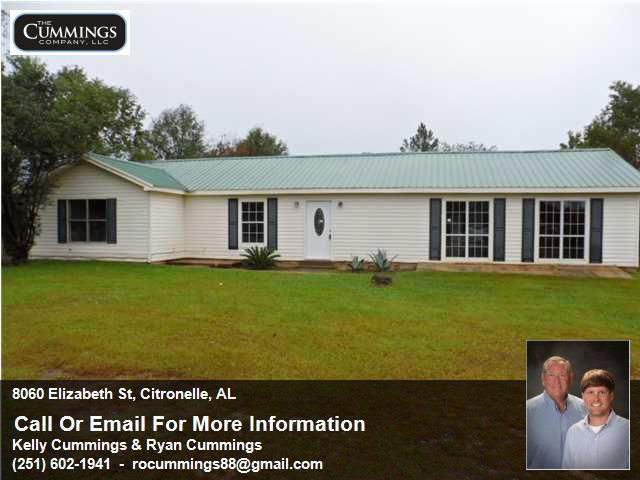 Rehabbed Foreclosure Home For Sale in Citronelle | 8060 Elizabeth St