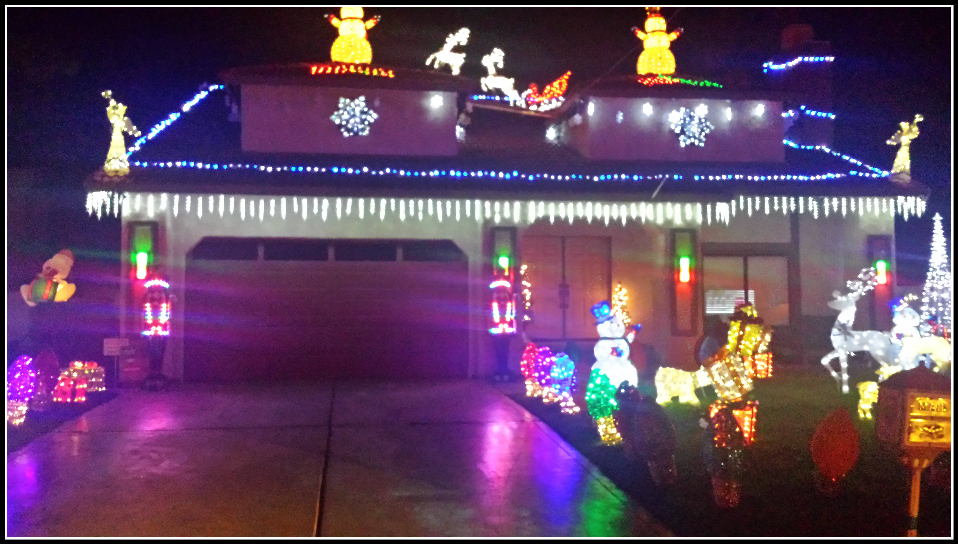 Candy Cane Lane/Minerva Road in Cathedral City