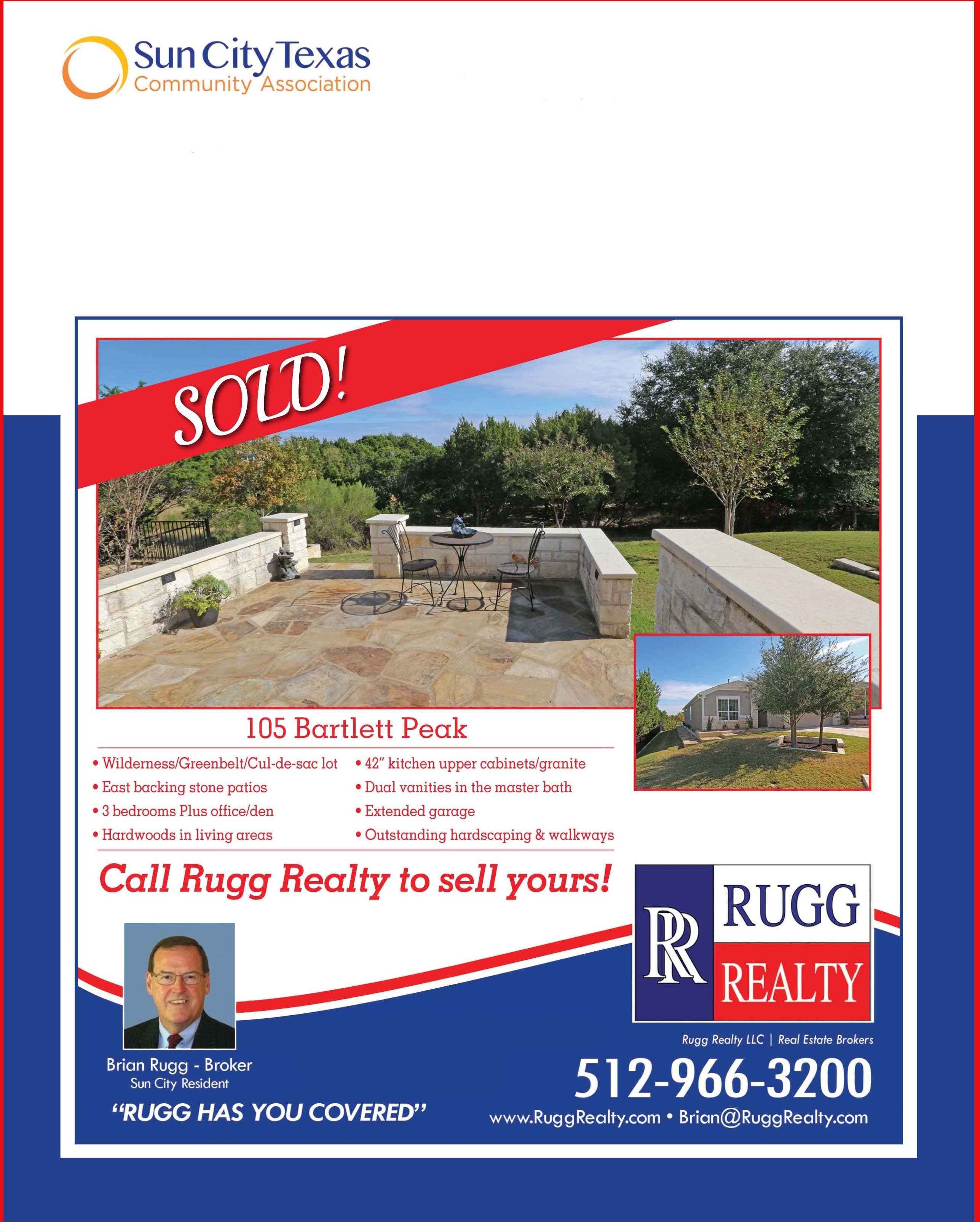 Sun City Texas sold