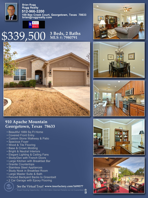 sun city texas home for sale