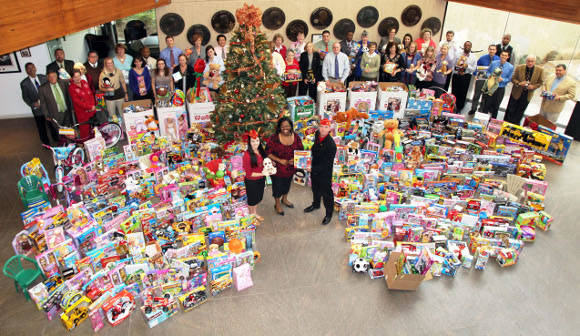 Toys For Tots Merchandise : The toys for tots donation party