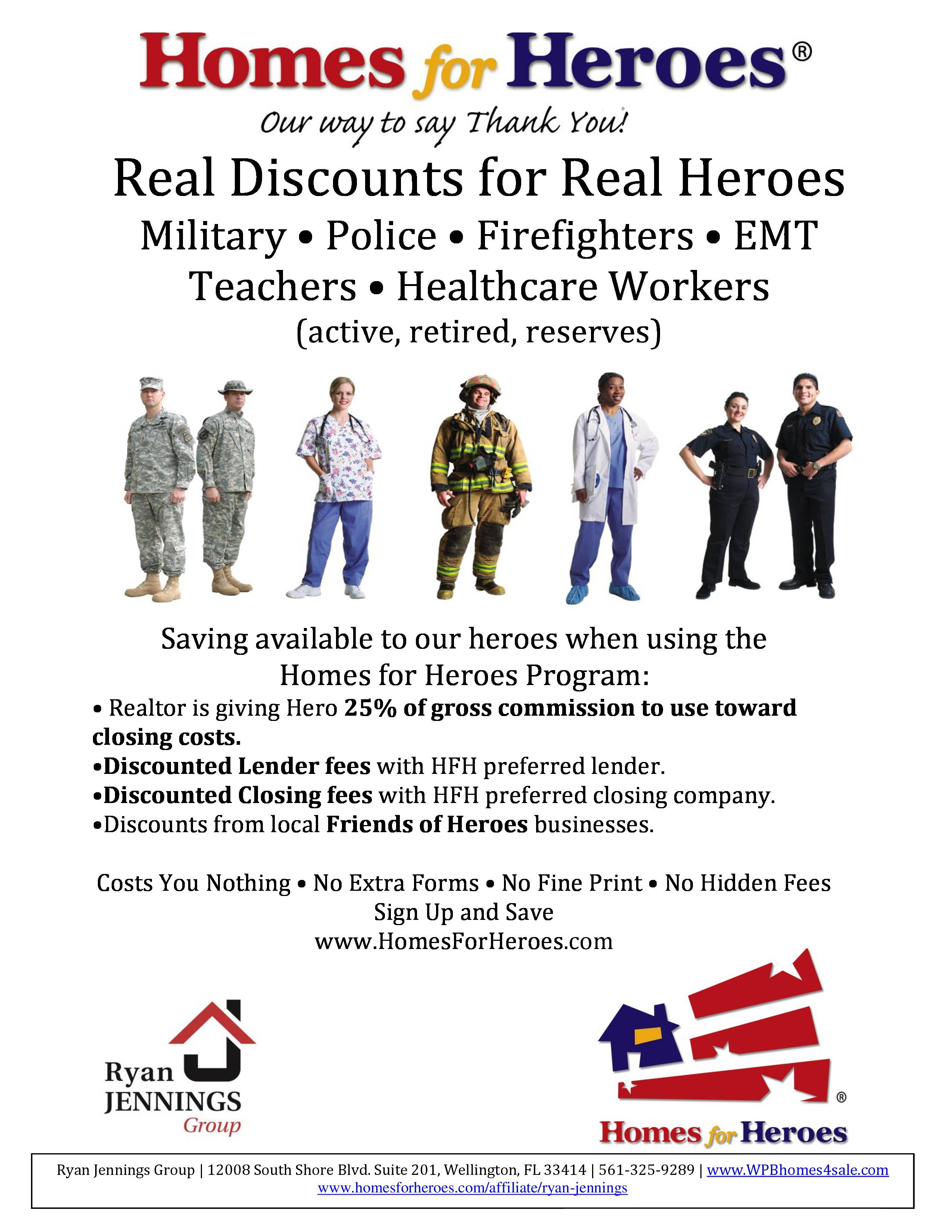 Homes For Heroes Housing Program That Saves You Money