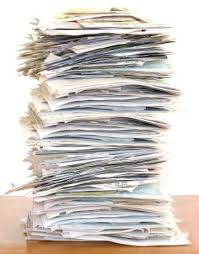 paper pile of documents