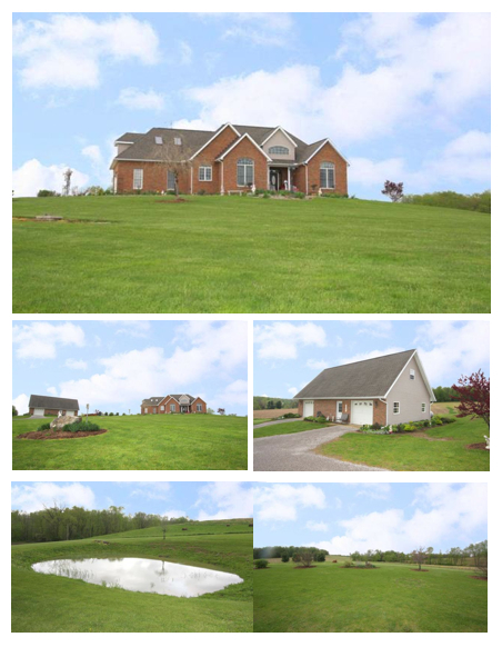 Gambier Ohio Home with Acreage