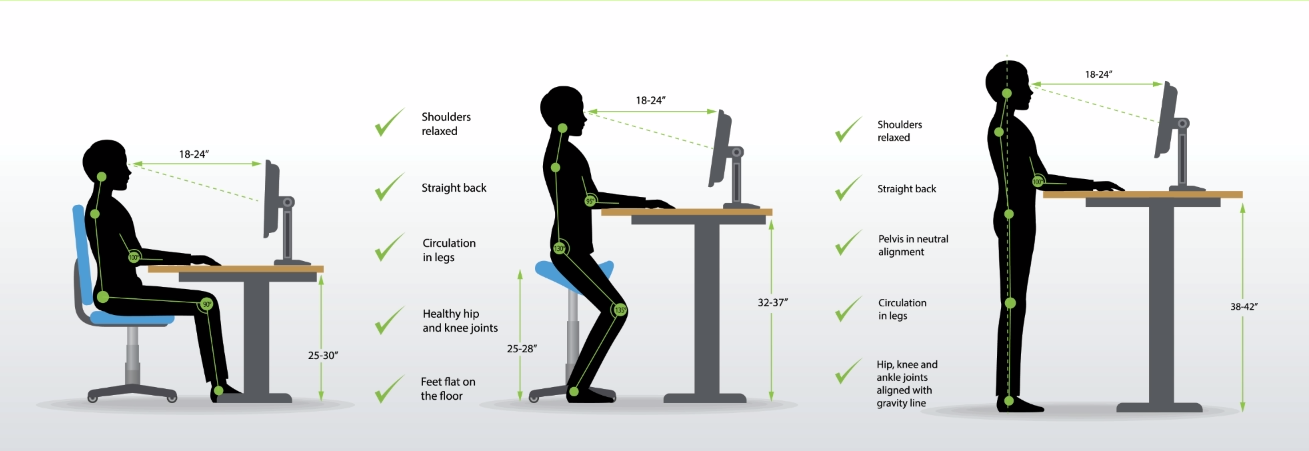 Surprising The Benefits To Working With Standing Desks Download Free Architecture Designs Scobabritishbridgeorg