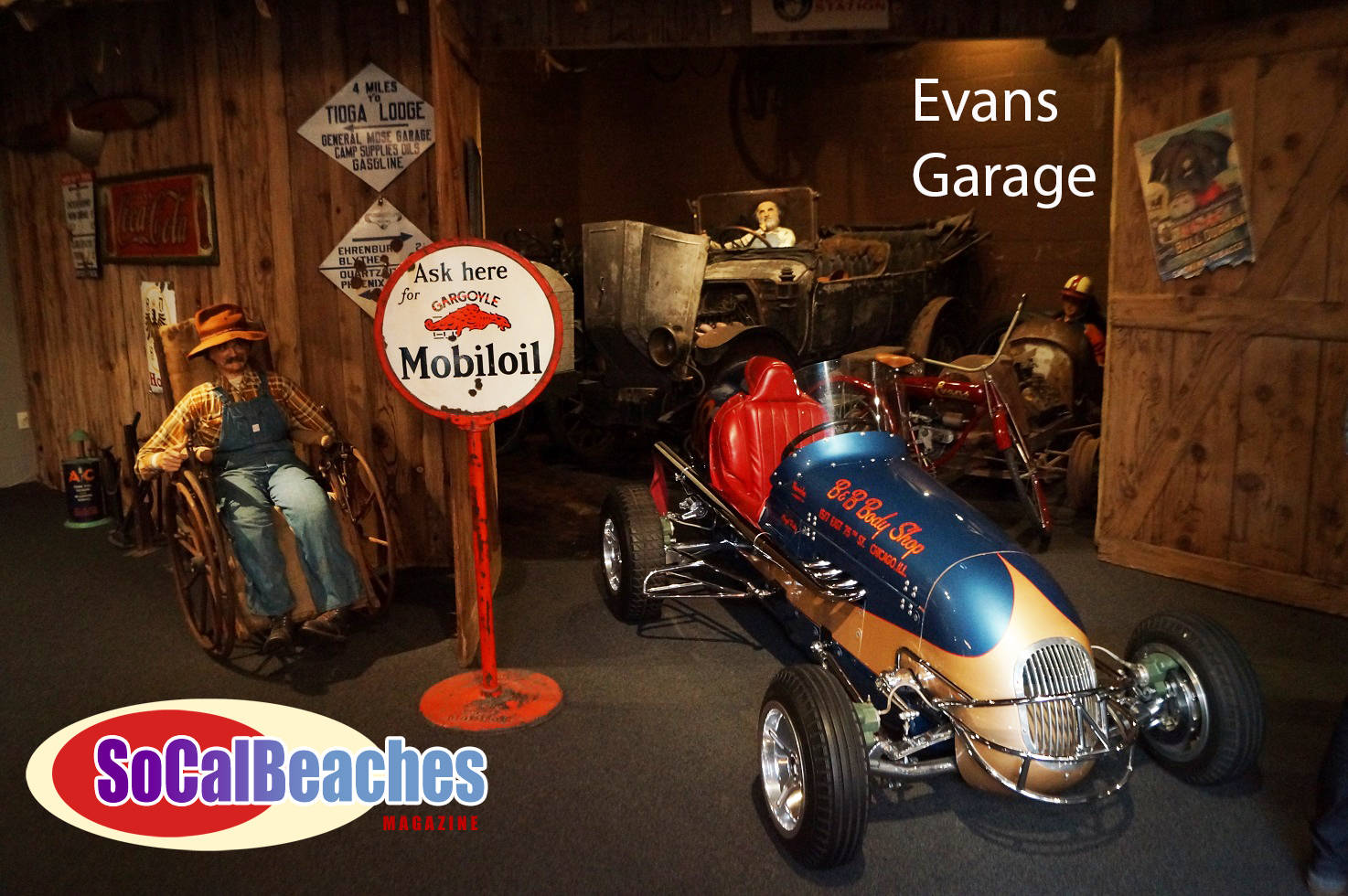 The Evans Family vintage car collection
