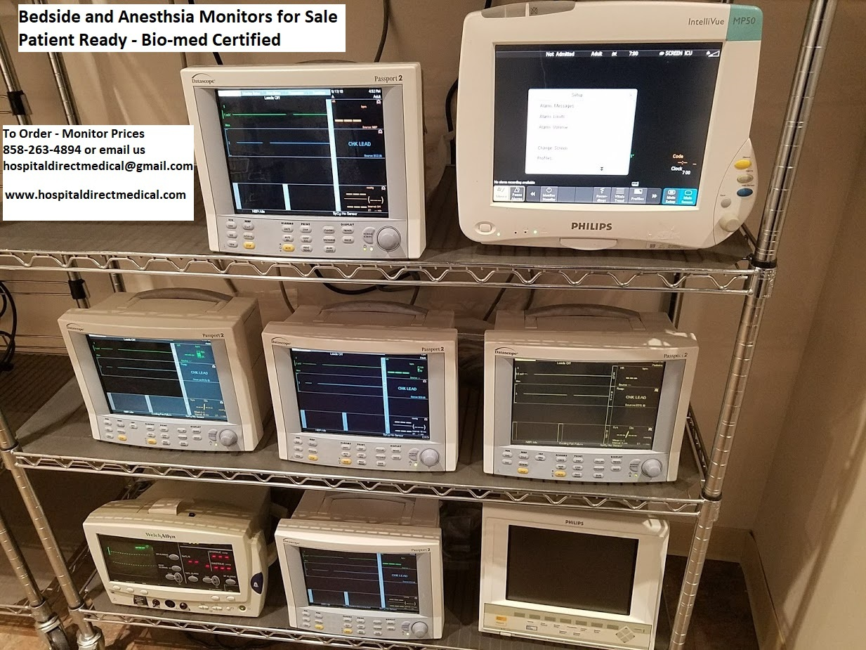 Used Anesthesia Machines for Sale San Diego Draeger and