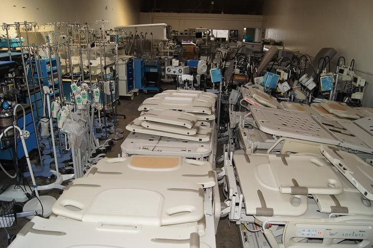 Hospital - medical equipment liquidator - liquidation company. 858-263-4894