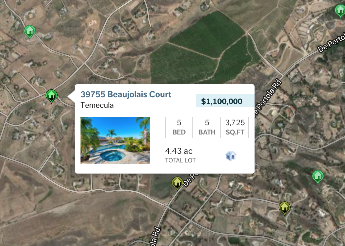Temecula Wine Country Listings