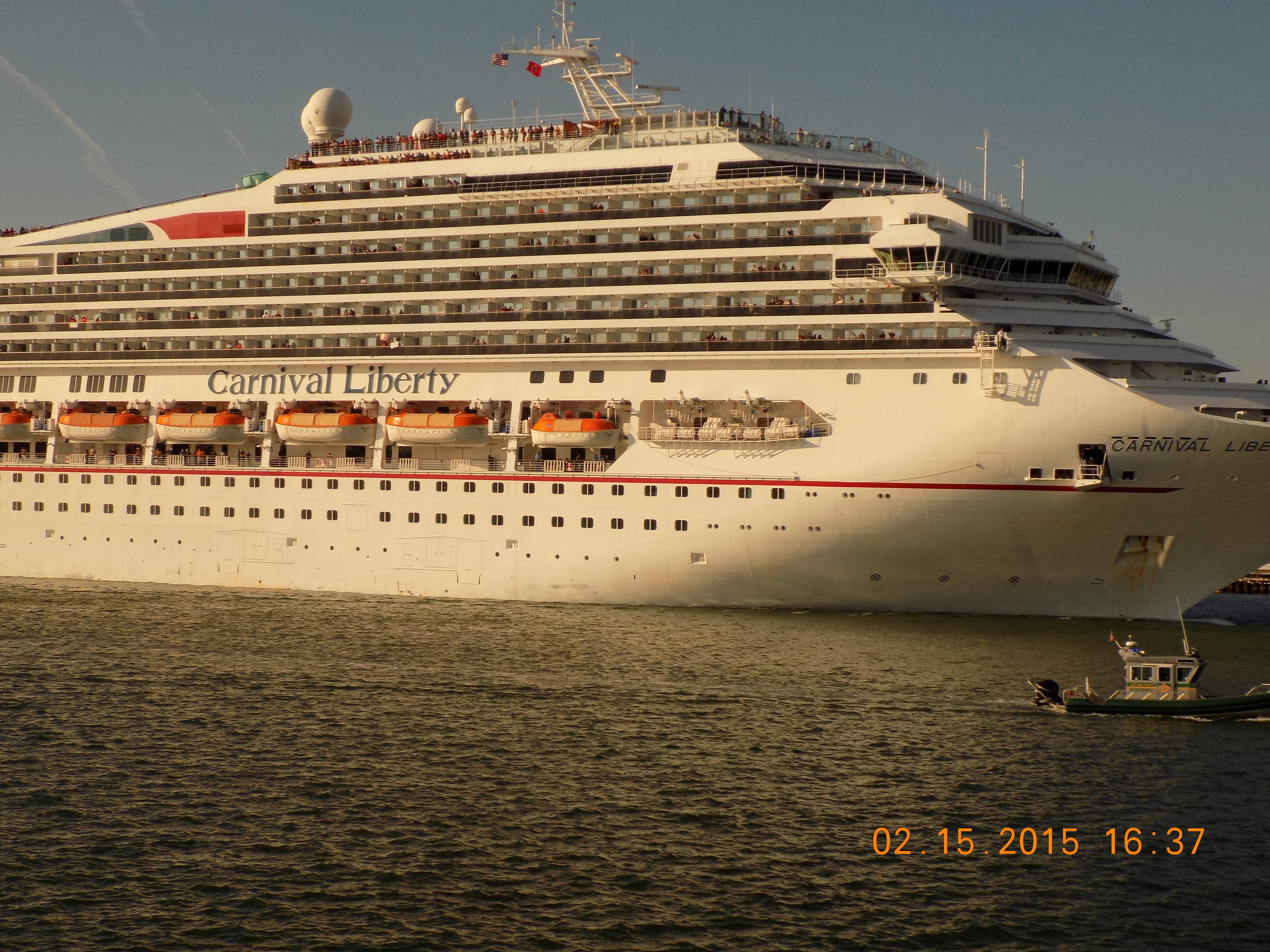 Six cruise ships in port canaveral - Port canaveral cruise lines ...