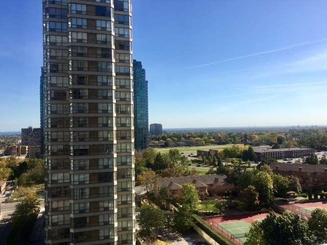 Mississauga Condo 156 Enfield Place.Balcony View2