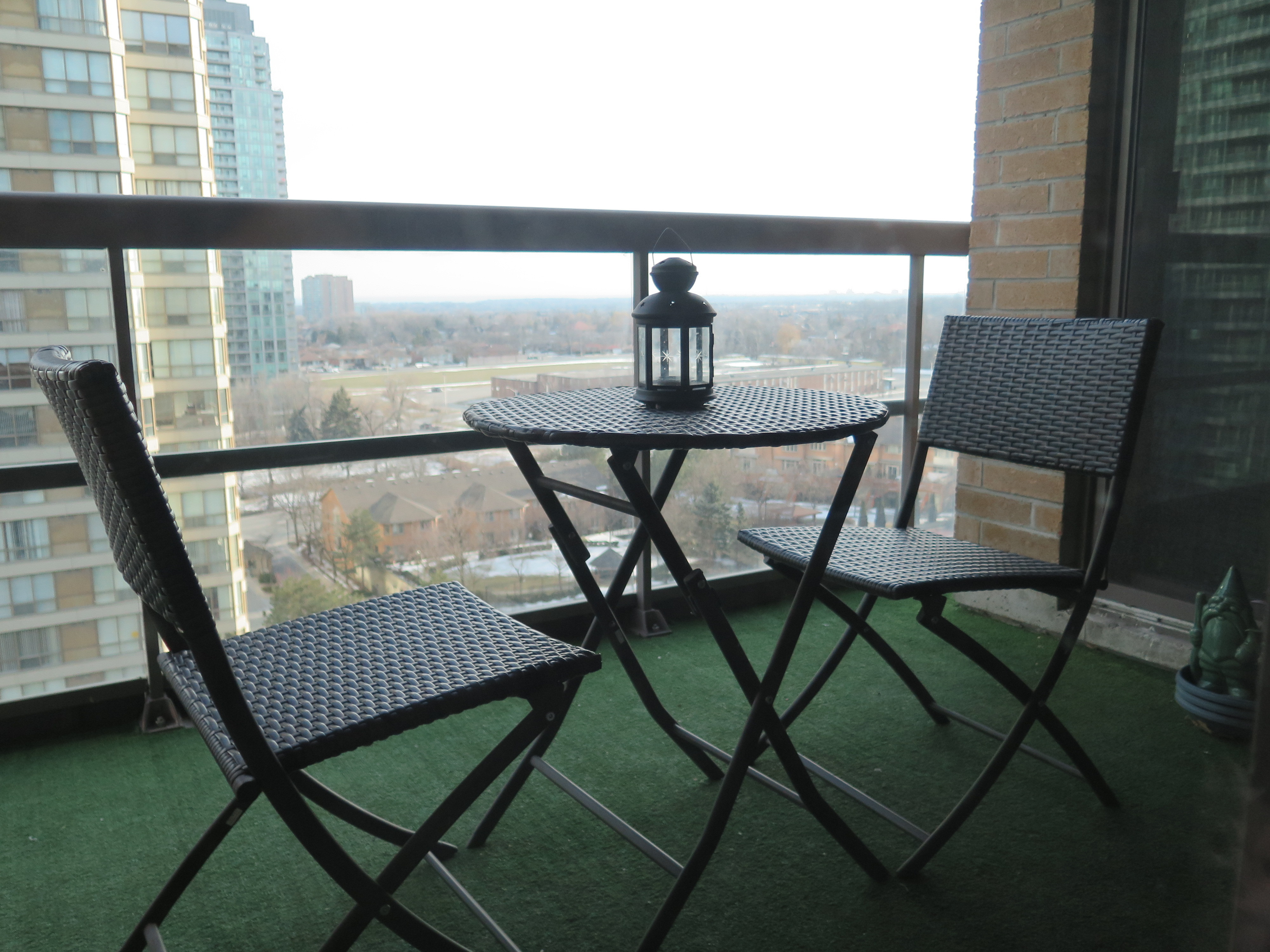 156 Enfield Place, Mississauga Condo for Sale Balcony