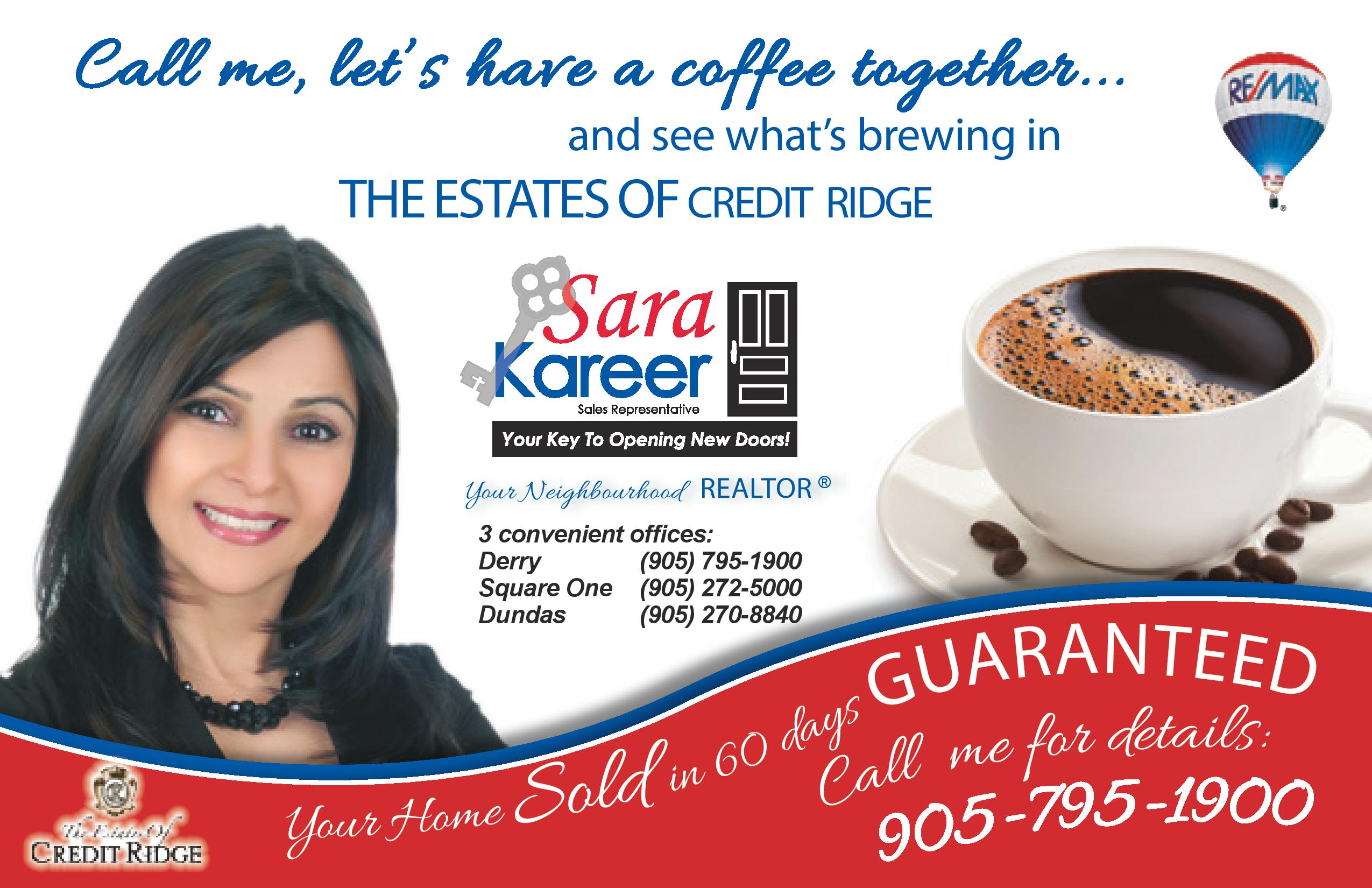 activerain homes for estates of credit ridge brampton sara kareer