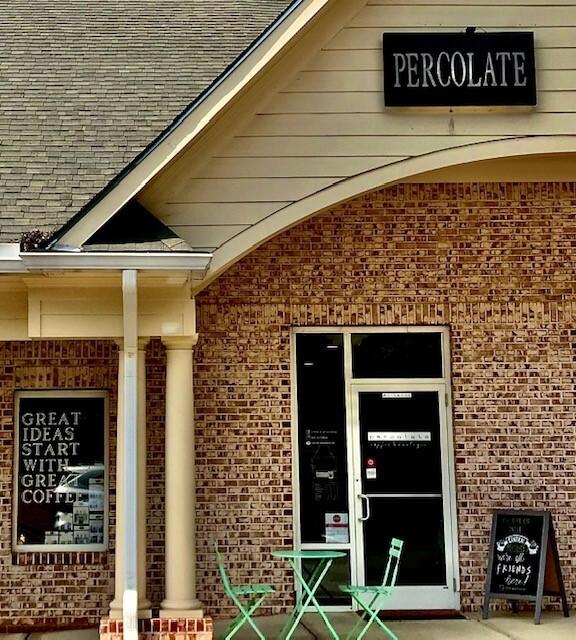 Summer Grove area Coffee Shop, Percolate Coffee