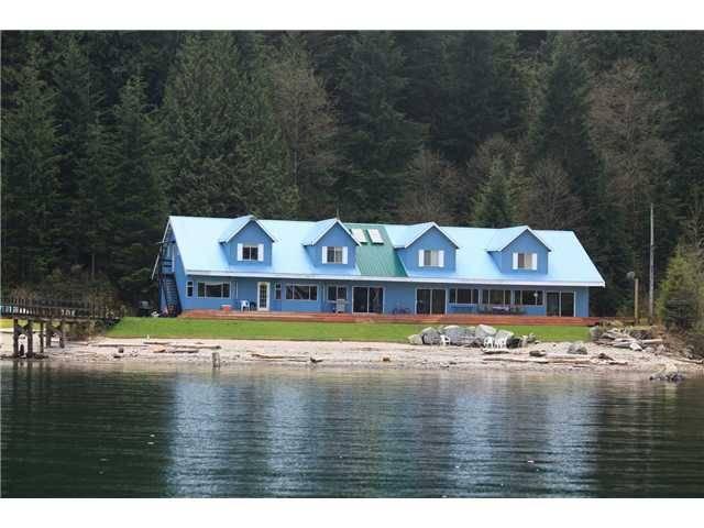 Christian cove pitt lake fishing lodge for sale for Fishing lodge for sale