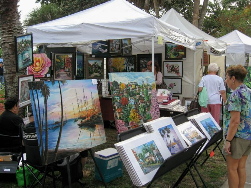 Celebrate art in the park in brooksville florida for Arts and crafts shows in florida