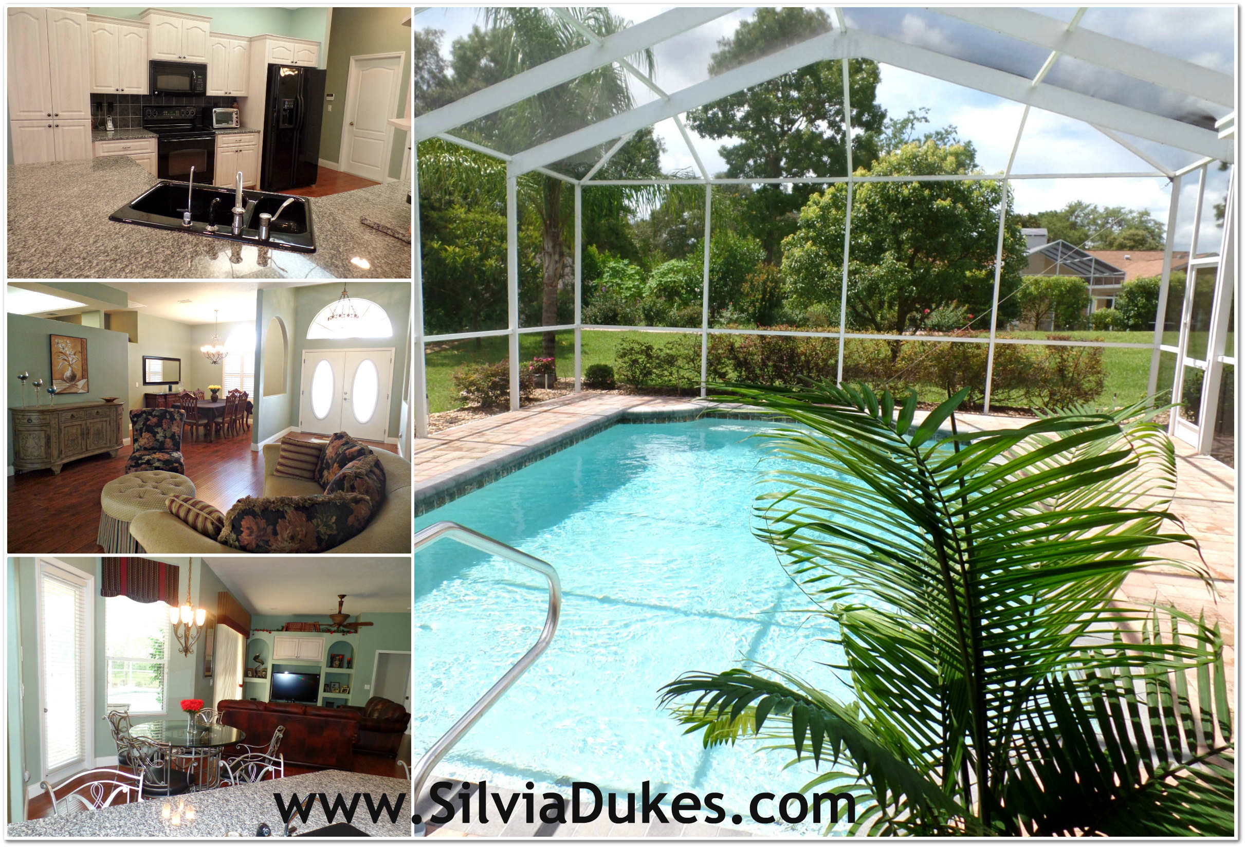 Luxurious pool home with four bedrooms for sale in for Selling a house with a pool